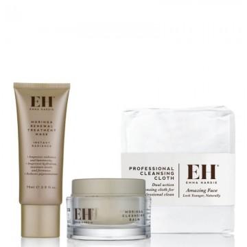 """Veido odos priežiūros rinkinys """"Emma Hardie Moringa Essentials"""""""