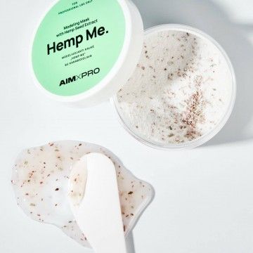 """""""Hemp Me"""" modeliuojanti kaukė su kanabidioliais"""
