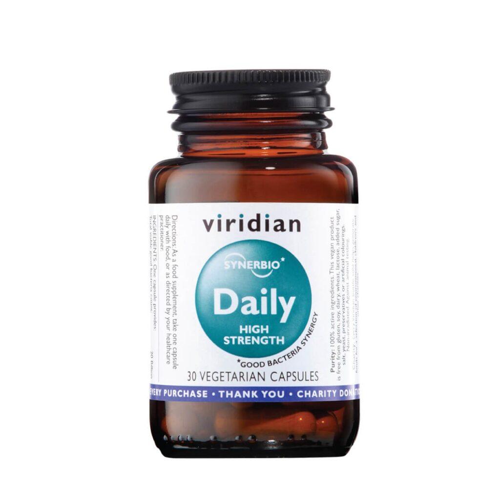 """Maisto papildas """"Synerbio Daily (High Strength)"""", VIRIDIAN, 50g"""