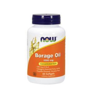 """Maisto papildas """"Borage Oil 1000 mg"""" (Vaistinės agurklės sėklų aliejus)"""