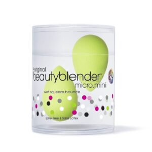 Beautyblender® Micro.Mini Green makiažo kempinėlė