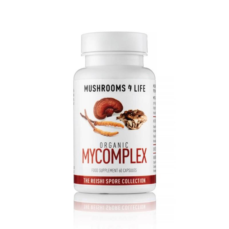 Maisto papildas MyComplex, mushrooms4life