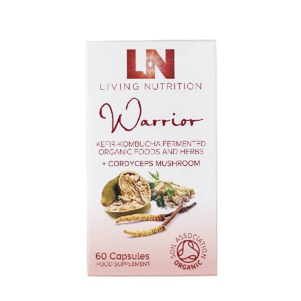 "Maisto papildas ""Organic Warrior"", 60 kaps"