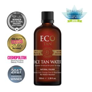 "Savaiminio įdegio vanduo ""Face Tan Water"", ECO BY SONYA, 100ml"