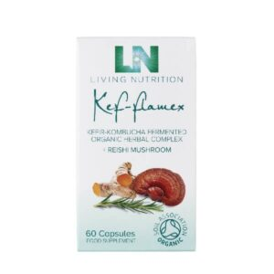 "Maisto papildas ""Kef-flamex"", 60kaps"