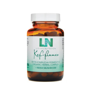 """Maisto papildas """"Kef-flamex"""", Living Nutrition"""