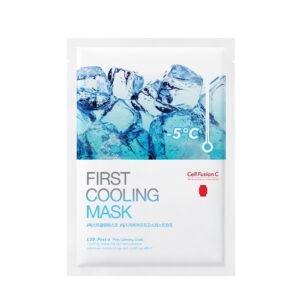 "Vėsinanti ir raminanti veido kaukė ""First cooling mask"", Cell Fusion C"