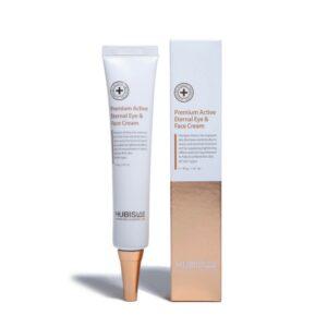 """Priešraukšlinis veido ir paakių kremas """"Premium Active Eternal Eye & Face Cream"""", HUBISLAB, 40ml"""