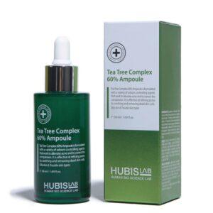 """Serumas-ampulė riebiai odai su arbatmedžiu """"Tea Tree Complex 60% Ampoule"""", HUBISLAB. 50ml"""