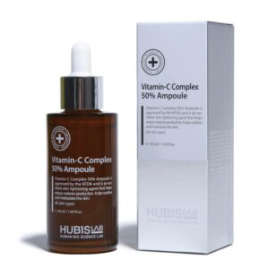 "Skaistinantis serumas-ampulė su vitaminu C ""Vitamin C Complex 50% Ampoule"", HUBISLAB, 50 ml"