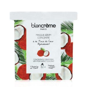 """Veido kaukė riebiai odai """"Coconut"""", Blancreme, 1 vnt."""
