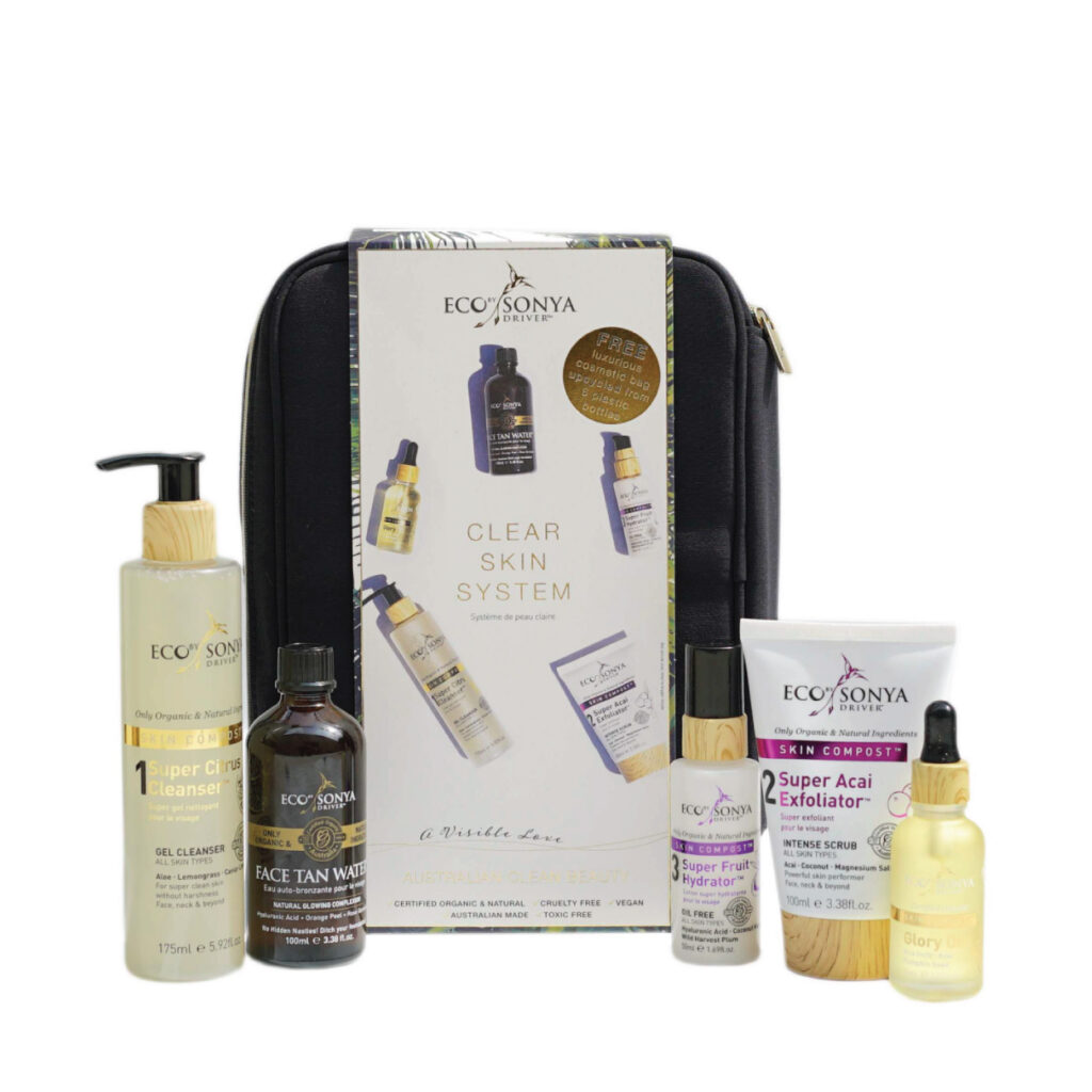 Rinkinys Clear Skin System, 5 vnt., ECO BY SONYA