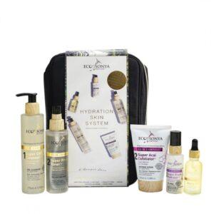 Rinkinys Hydration Skin System, 5 vnt., ECO BY SONYA