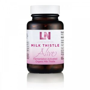 "Maisto papildas ""Milk Thistle"", Living Nutrition"