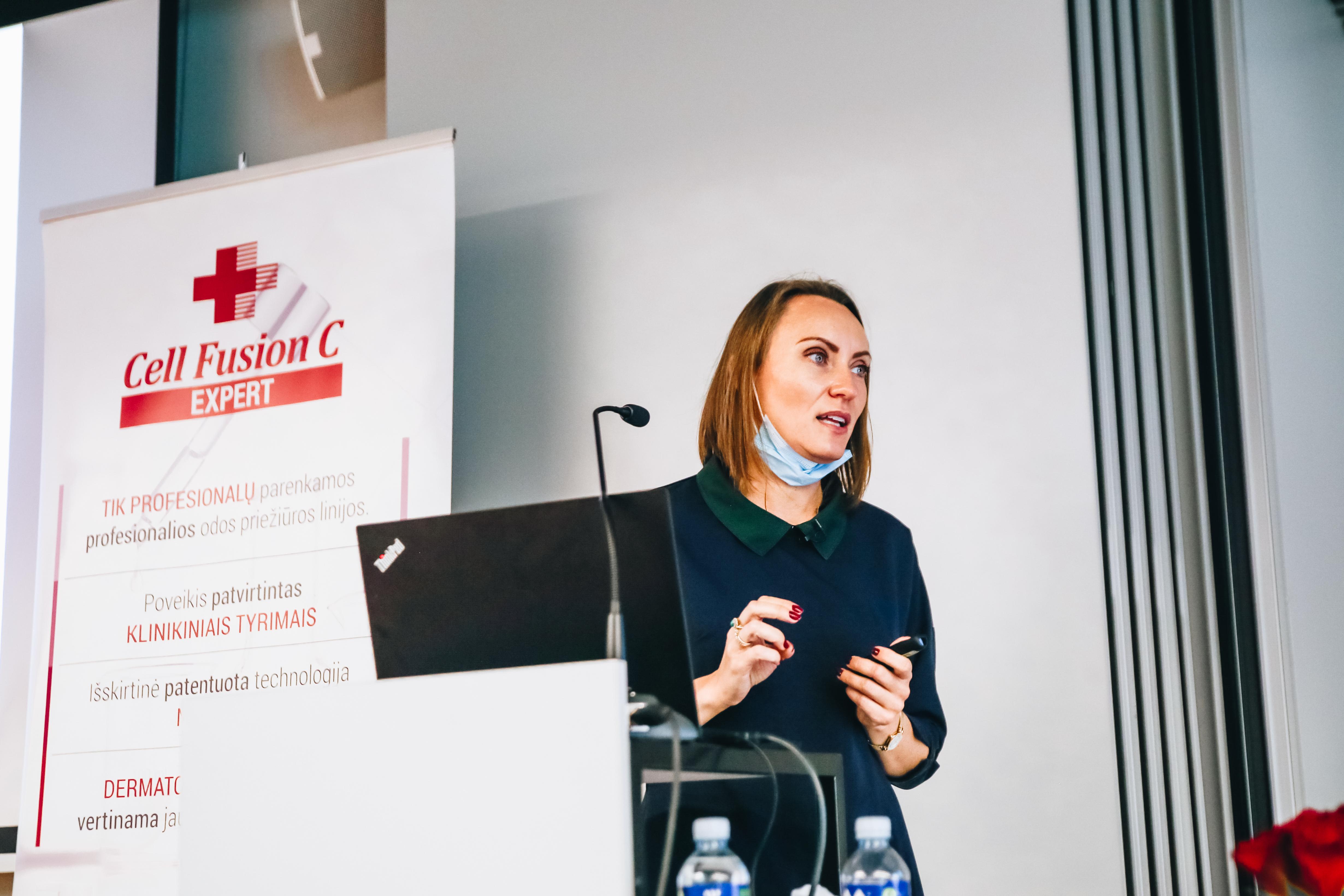 Cell Fusion C Expert mokslinė konferencija su doc. dr. Diana Barragan Ferrer