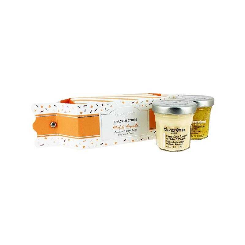 """Drėkinantis medaus aromato rinkinys kūnui """"Honey and Almond"""""""