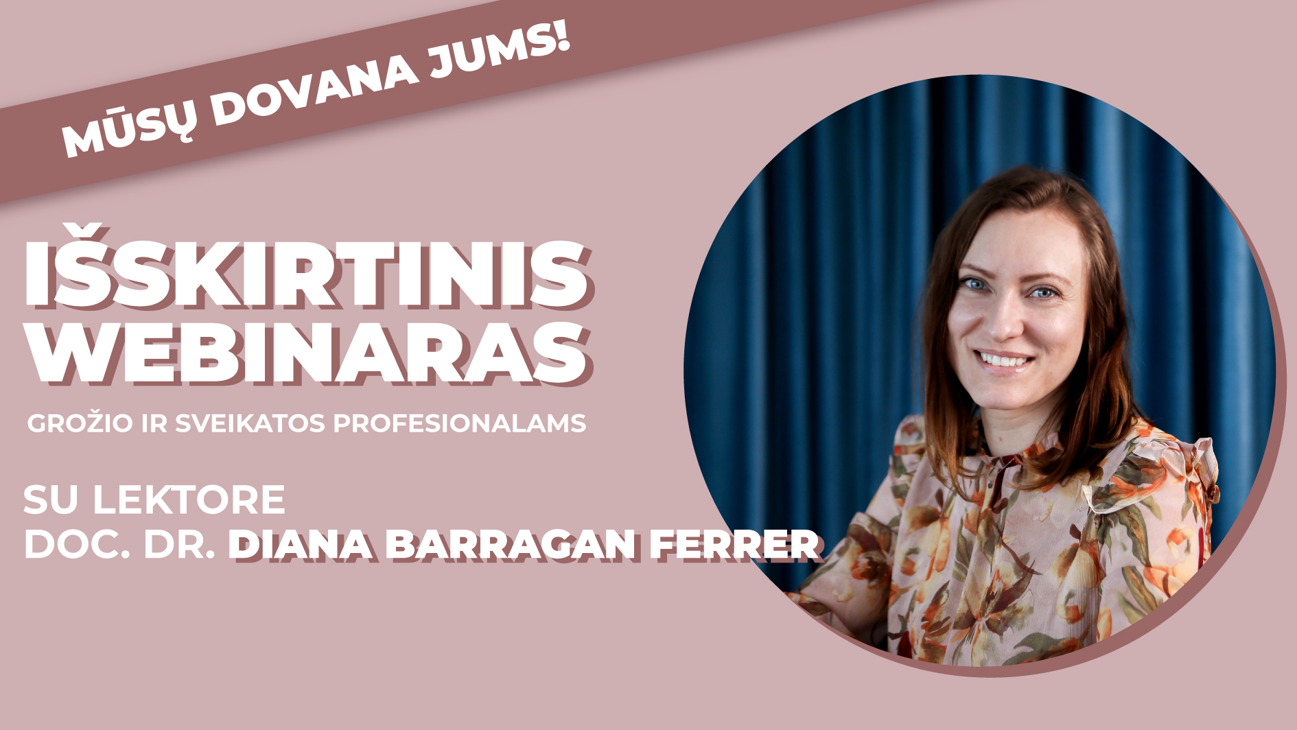 Cell Fusion C akcentuojama odos barjerinės funkcijos svarba su doc. dr. Diana Barragan Ferrer